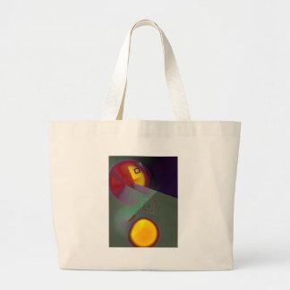 Abstract Sun Light Tote Bags