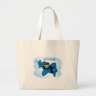 AIRPLANE - LOVE TO BE ME.png Tote Bag