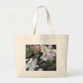 Apple Blossom Canvas Bags