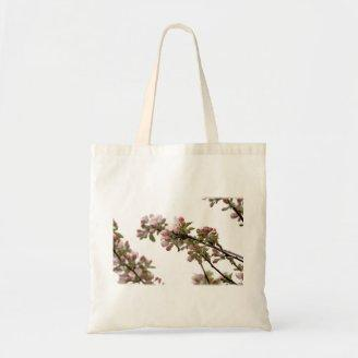 Apple Blossoms in Spring Canvas Bags