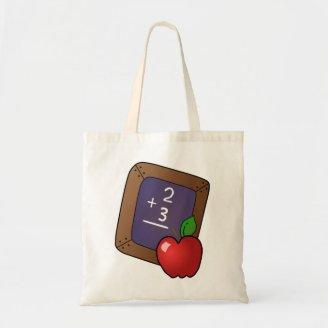 Apple calculation - canvas bags