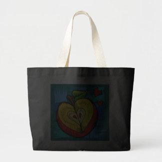 Apple Heart Love Valentines Bags