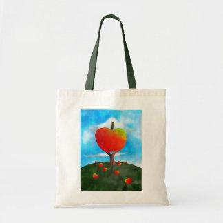 Apple Tree Tote Bags