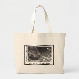 Art of Conservation Stamp – 2001 Canvas Bag