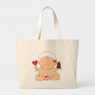 Baby Valentines Canvas Bags