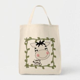 Baby Zebra T-shirts and Gifts Canvas Bags