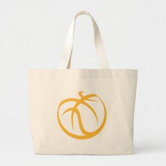 Basketball Icon Canvas Bags