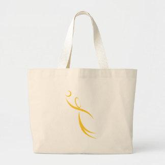 Basketball Player Icon Tote Bags