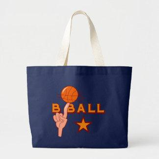 Basketball Star T-shirts and Gifts Canvas Bags