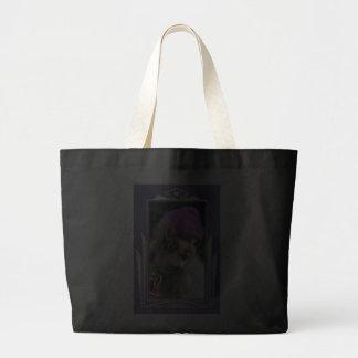 Beautiful Flapper Lady Canvas Bags