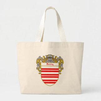 Berry Coat of Arms/Family Crest (Mantled) Canvas Bag