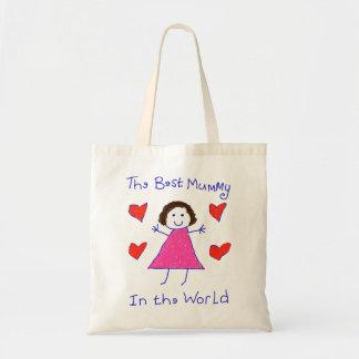 Best Mummy In The World Tote Bags