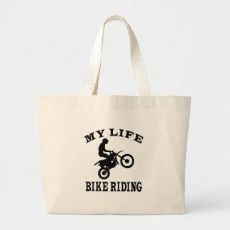 Bike Riding My Life Bag