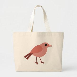 Bird Standing Large Tote Bag