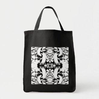 Black and White Abstract. Bags