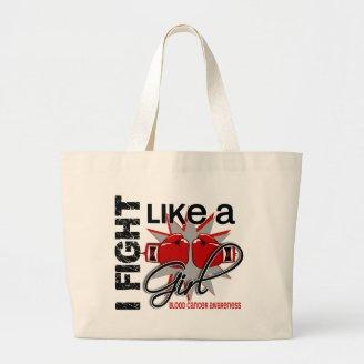 Blood Cancer I Fight Like A Girl 13.1 Bags