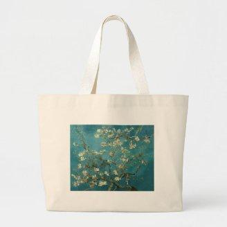 Blossoming Almond Tree - Van Gogh Tote Bags