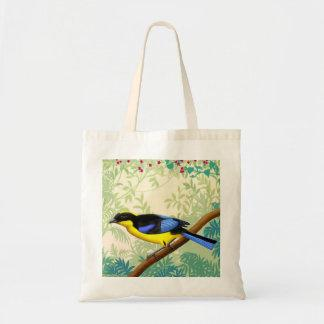 Blue Winged Mountain Tanager Wild Bird Bag