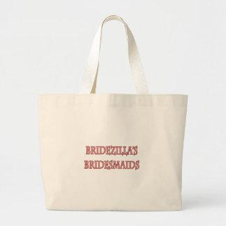 Bridezilla's Bridesmaids Tote Bag