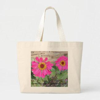 Bright Blooms tote Bags