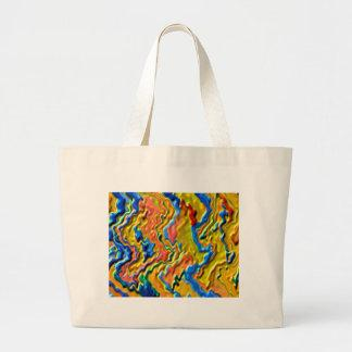 Canadian GOLD Waves Tote Bag