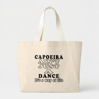 Capoeira ain't just a dance it's a way of life tote bag
