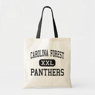 Carolina Forest - Panthers - High - Conway Canvas Bags
