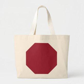 Chili Pepper - Deep, Spicy Red Background. Elegant Canvas Bag