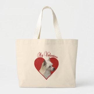 Chinese Crested(powder) Valentine Bag