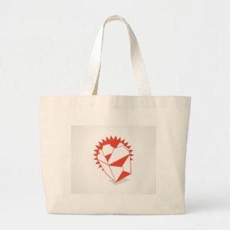 Chinese Food Takeout Box Canvas Bag