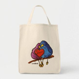 """Chocolate Valentine"" Grocery Tote Grocery Tote Bag"