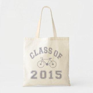 Class Of 2015 Cyclist - Grey 2 Canvas Bags