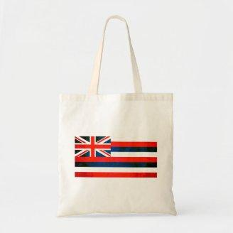 Colorful Contrast Hawaiian Flag Bags