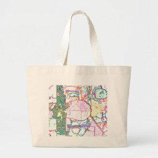 Colorful Women's Canvas Tote Bag