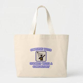 Conserve Water .. Shower w Consultant Bag