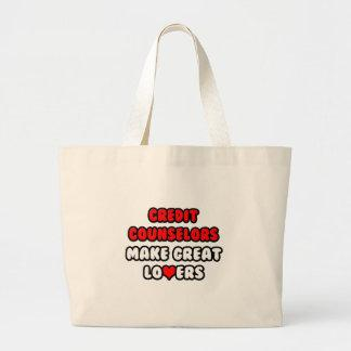 Credit Counselors Make Great Lovers Canvas Bags