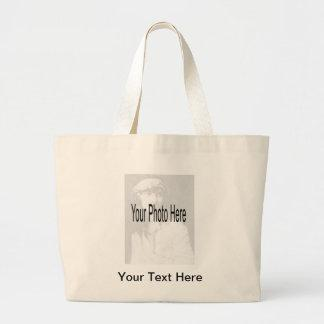 Customizable - Your Photo & Text Tote Bags