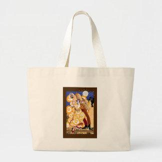 Dancing and music and love tote bags
