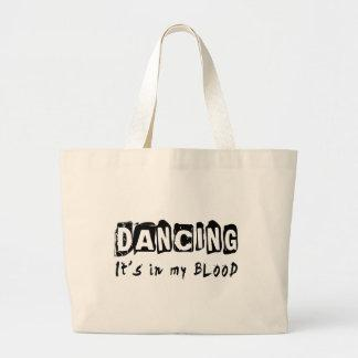 Dancing It's in my blood Canvas Bags