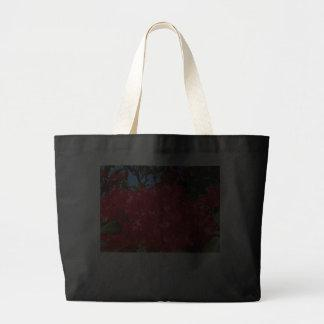 Debt is Evil!!! Tote bags Red Rhodies Flowers