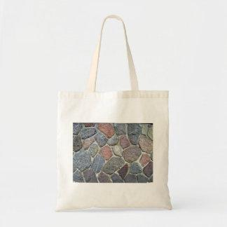 Decorative Stone Wall Background Texture Tote Bags