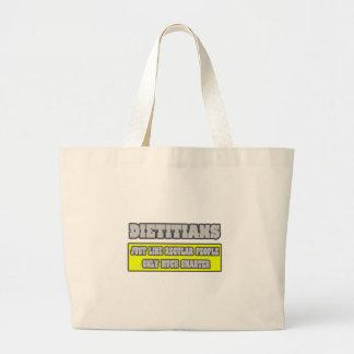 Dietitians...Much Smarter Tote Bags