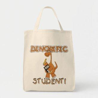 Dinorific Student T-shirts and Gifts Tote Bag