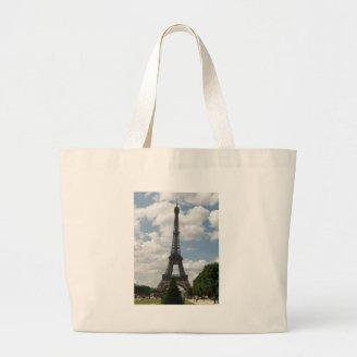 Eiffel Tower Canvas Bags