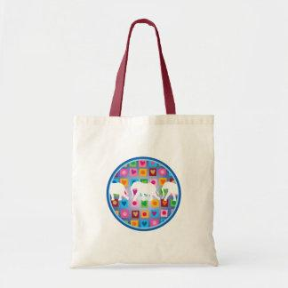 Elephants with Hearts Tote Bags