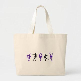 Figure Skaters - Purple & Black Bag