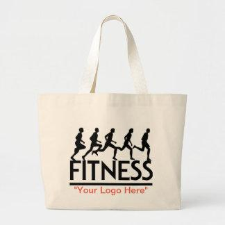 """#Fitness"" Tote Bag"