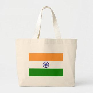 Flag of India Tote Bags