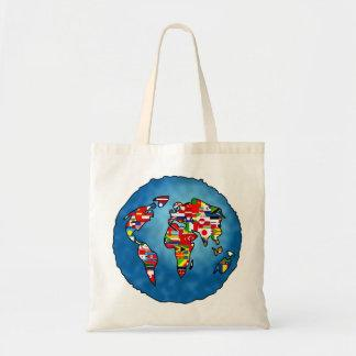 Flag Planet Tote Bag