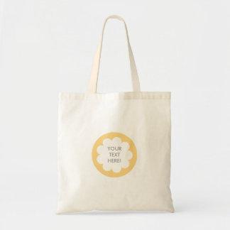 FLUFFY CLOUD TOTE BAG YELLOW